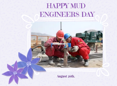 Mud Engineers day is celebrated on Every year August 26th to honor the  contribution made by mud engineers in oilfield | Engineers day, Day,  Novelty christmas