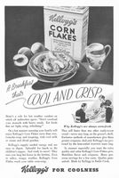 Kellogg's Corn Flakes 1935 Ad Picture