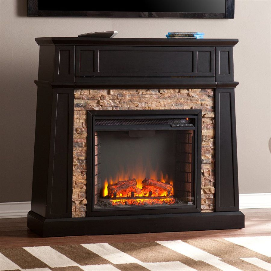 farmhouse electric fireplace lowes