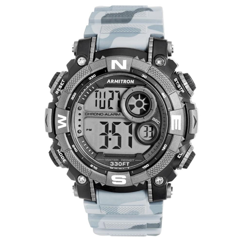 Armitron Sport Men's Chronograph Strap Watch Black/Gray