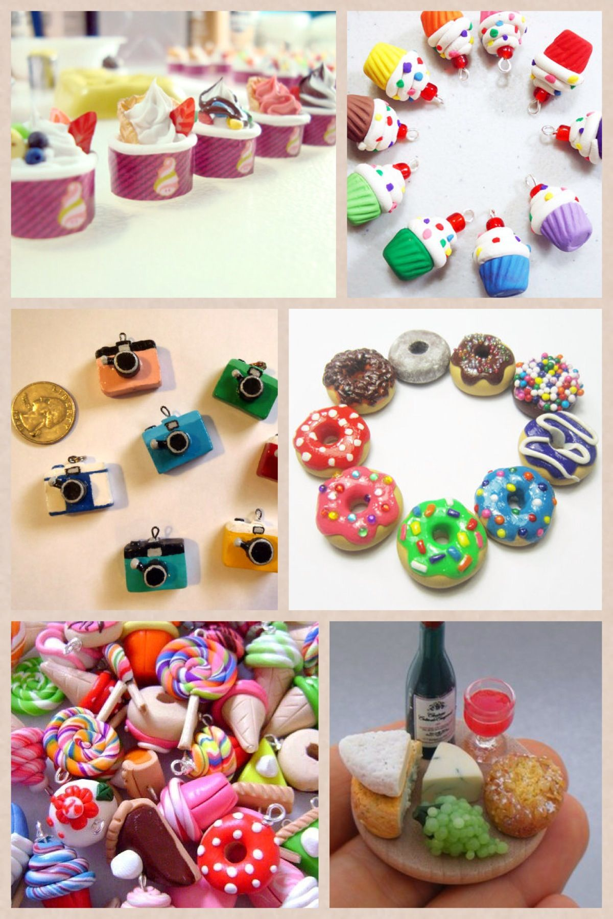 Polymer Clay Tutorial 6 Ways To Make Clay Bracelets: Polymer Clay Charms (I LOVE THE MENCHIE'S CHARMS OMG :3