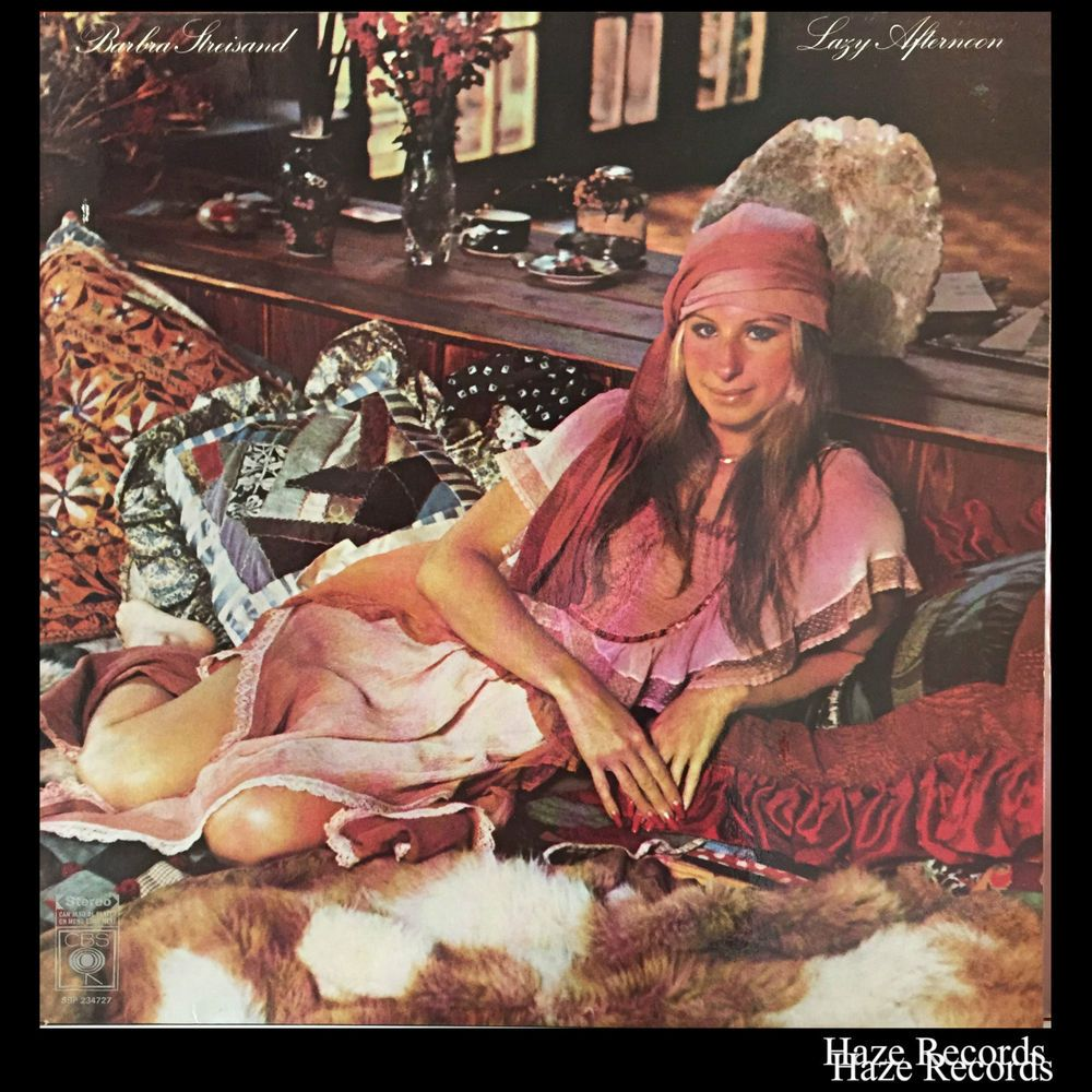Details About Barbara Streisand Lazy Afternoon Lp Barbra