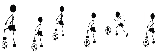 Fun Soccer Warm Up Drills for kids ages 5, 6, and 7 years