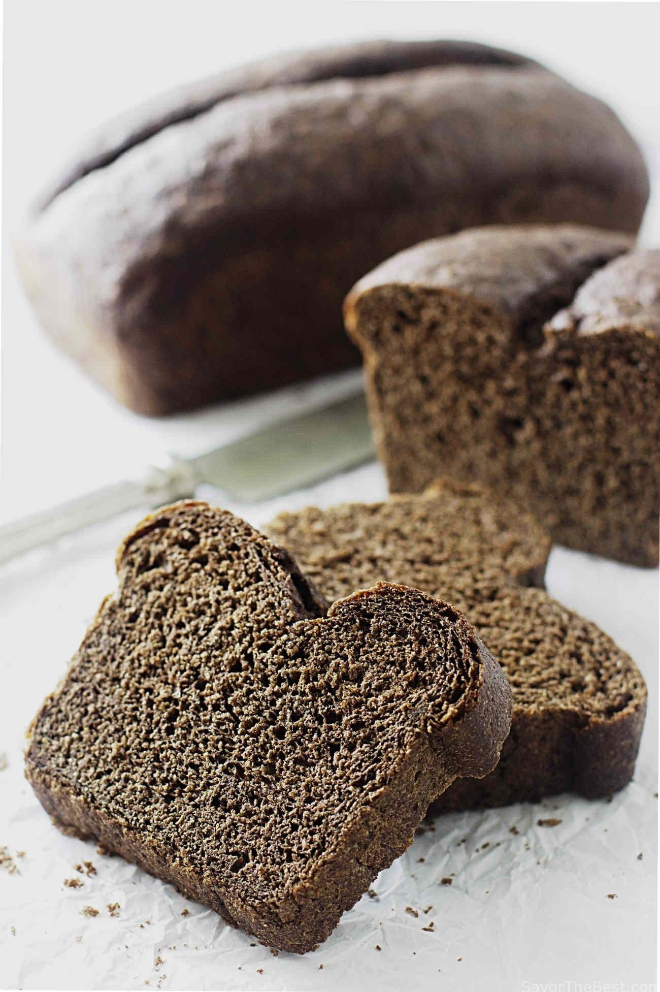 Sprouted Rye Bread Recipe Rye Bread Bread Sprouted Rye Bread Recipe