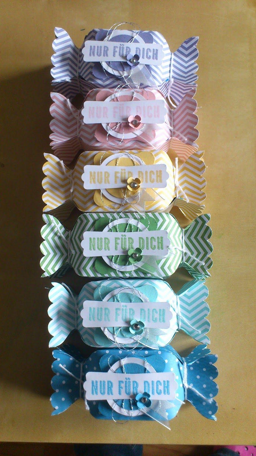 Tortensteffis kreative Ecke: Bonbon | idée drage | Pinterest ...
