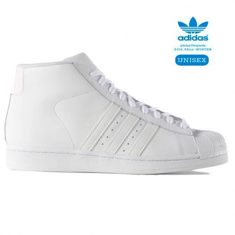 quality design b3e65 ec574 Zapatillas Pro Model W Blanca de Adidas Footwear