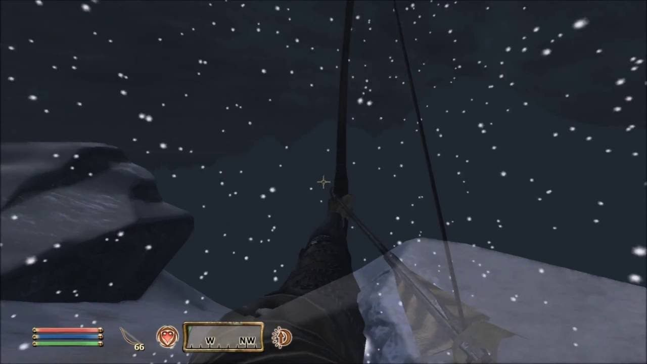 TES IV: Oblivion] Has anyone experienced this problem with