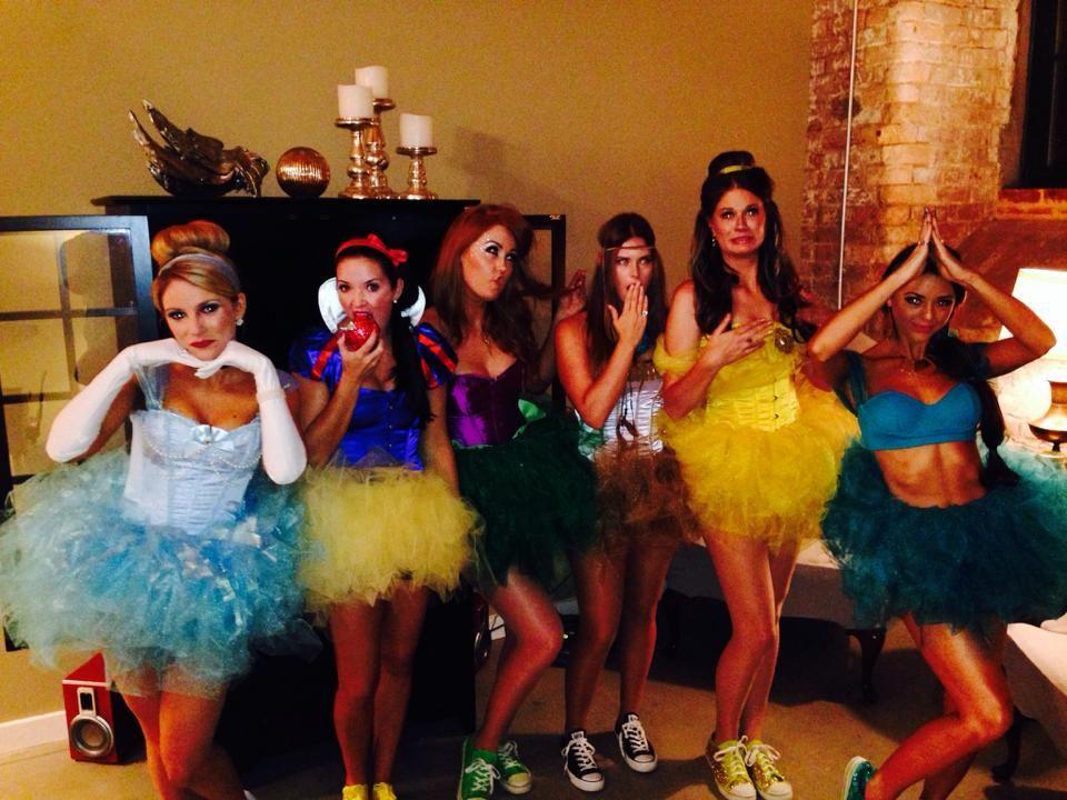 Halloween costume Disney Princess DIY idea. Cute Halloween costume idea