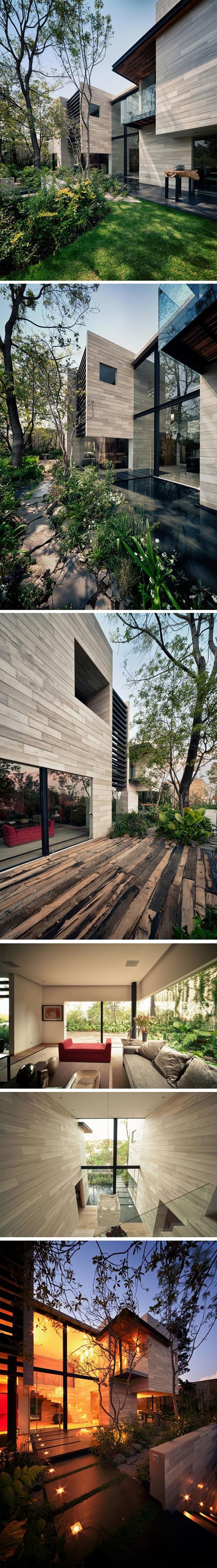 Cloud Nukes Photo - Maison Guanabanos par Taller Héctor Barroso Résidence sur deux étages à Mexico ... 687319623729880