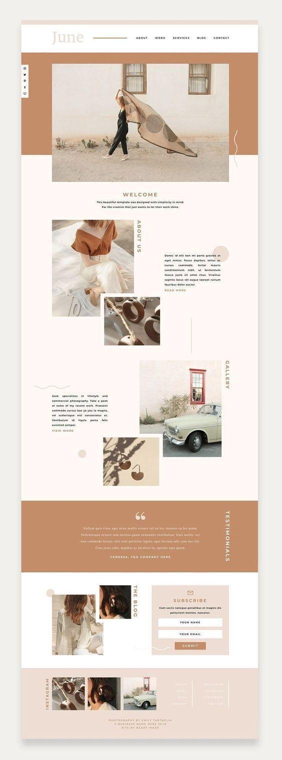 Inspiracion Grafica Web Layout Design Web Design Company Branding Website Design