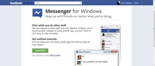 How to Download Facebook Messenger for Windows Facebook