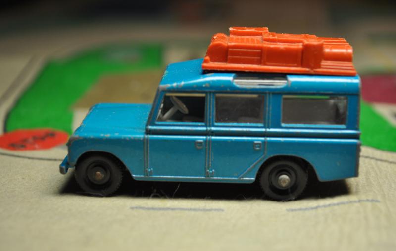 Tomboy Style: GEAR | Vintage Matchbox Land Rover