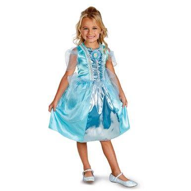 Classic Cinderella Sparkle Costume - Girls