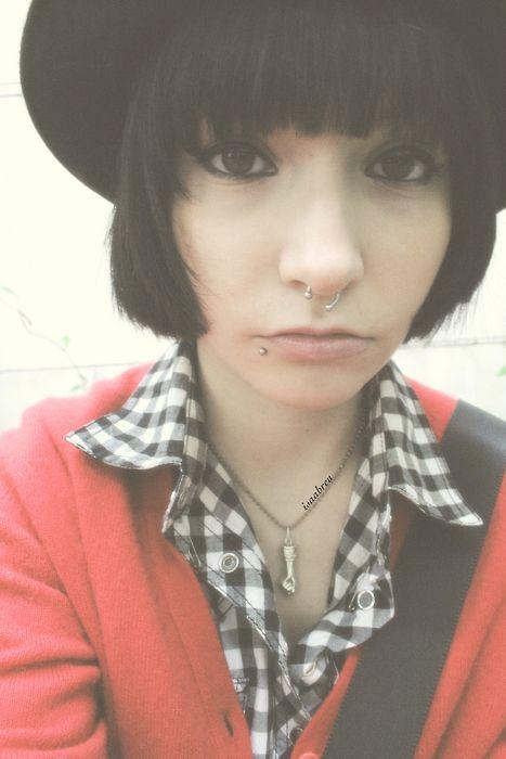 #girl #piercings