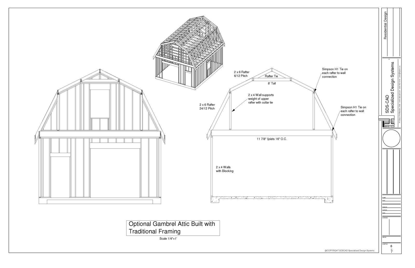 Gambrel Barn Plans Gambrel Barn Barn Plans Gambrel