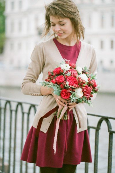 photo by Anastasiya Belik, flowers by Marina Shentyapina