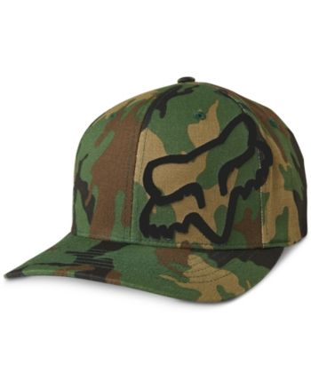 Photo of Fox Men's FlexFit Camo Logo Graphic Hat & Reviews – Hats, Gloves & Scarves – Men – Macy's