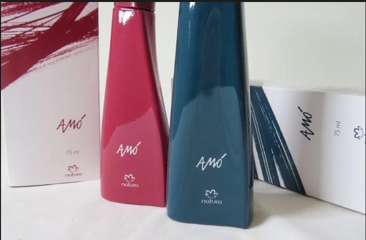 Perfumes Amó masculino e feminino