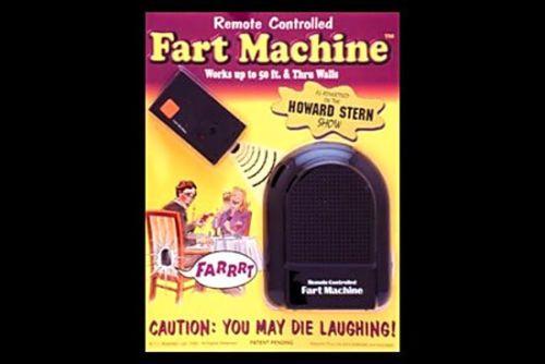 2 Funny Gag Gift Joke Prank 1 T.J Wisemen Remote Control Fart Machine No