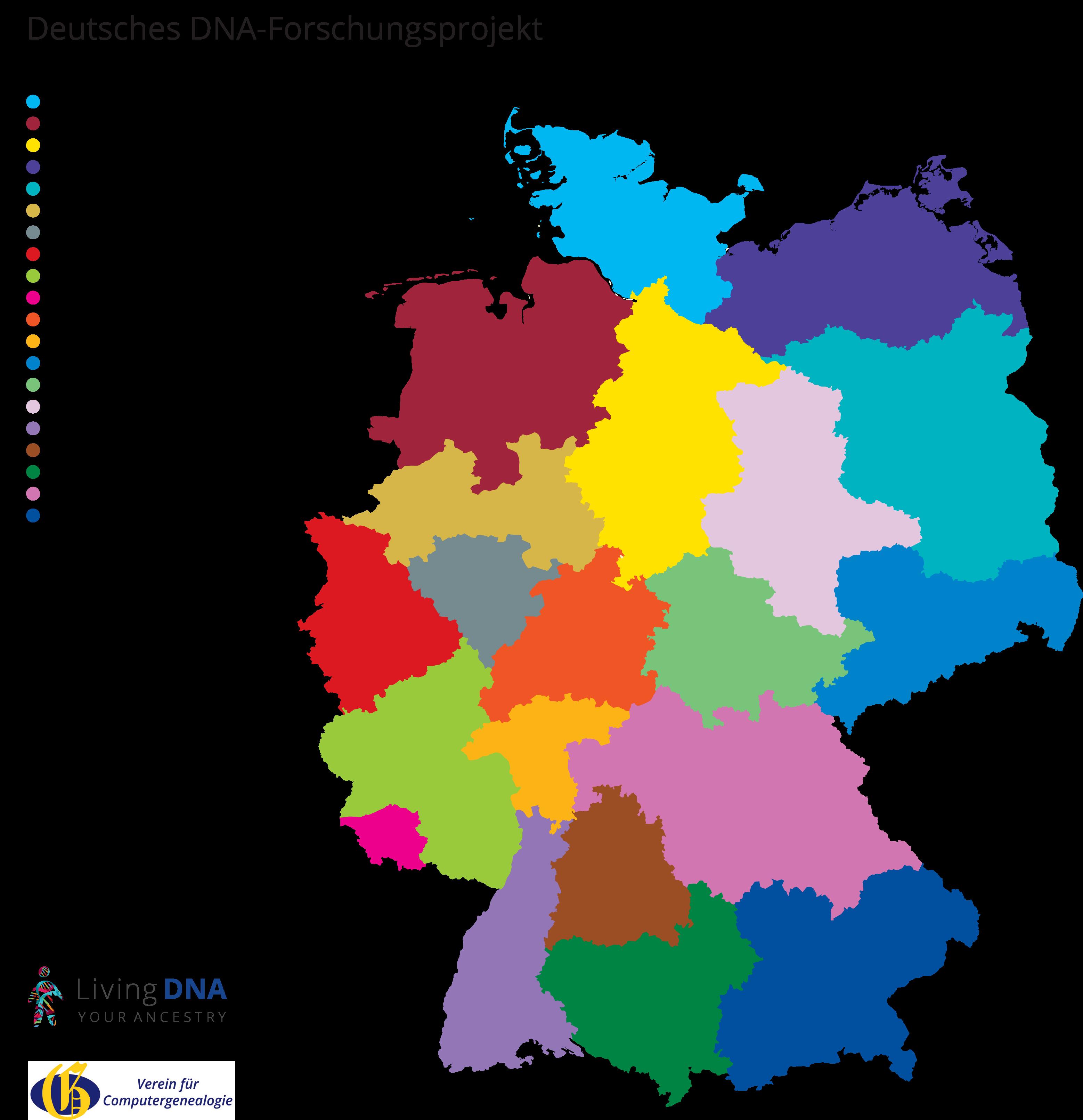 Deutsches DNA-Forschungsprojekt | Living DNA | Gen-Test | DNS-Test ...
