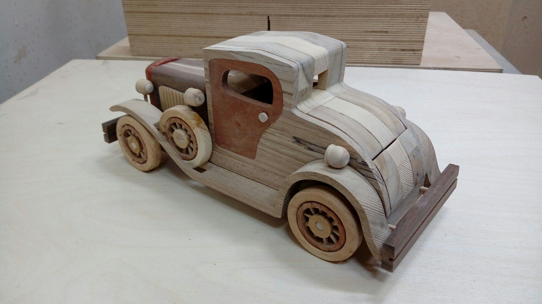 Ford Roaster Plan wood cars trucks Pinterest – Plan Toys Car Garage