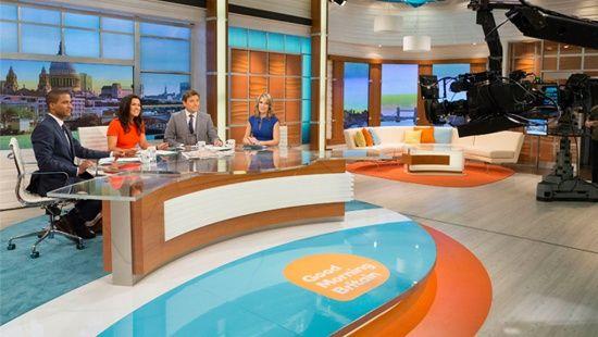 Good Morning Britain Set Studio 5 London Studios ITV TV