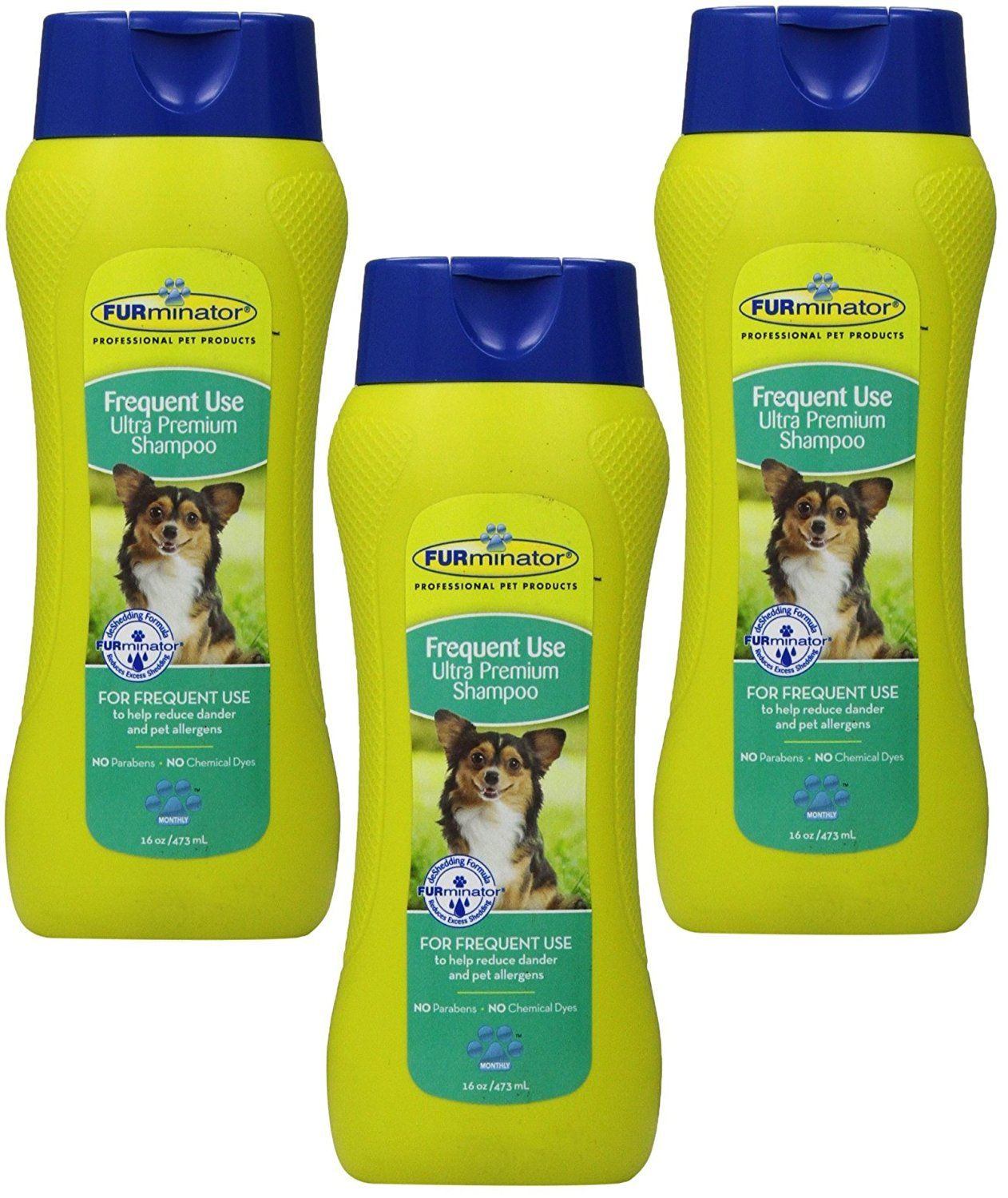 Furminator Frequent Use Ultra Premium Shampoo 16 Ounce 3 Pack More Infor At The Link Of Image Dog Supplies For Cat Shampoo Cat Grooming Dog Grooming
