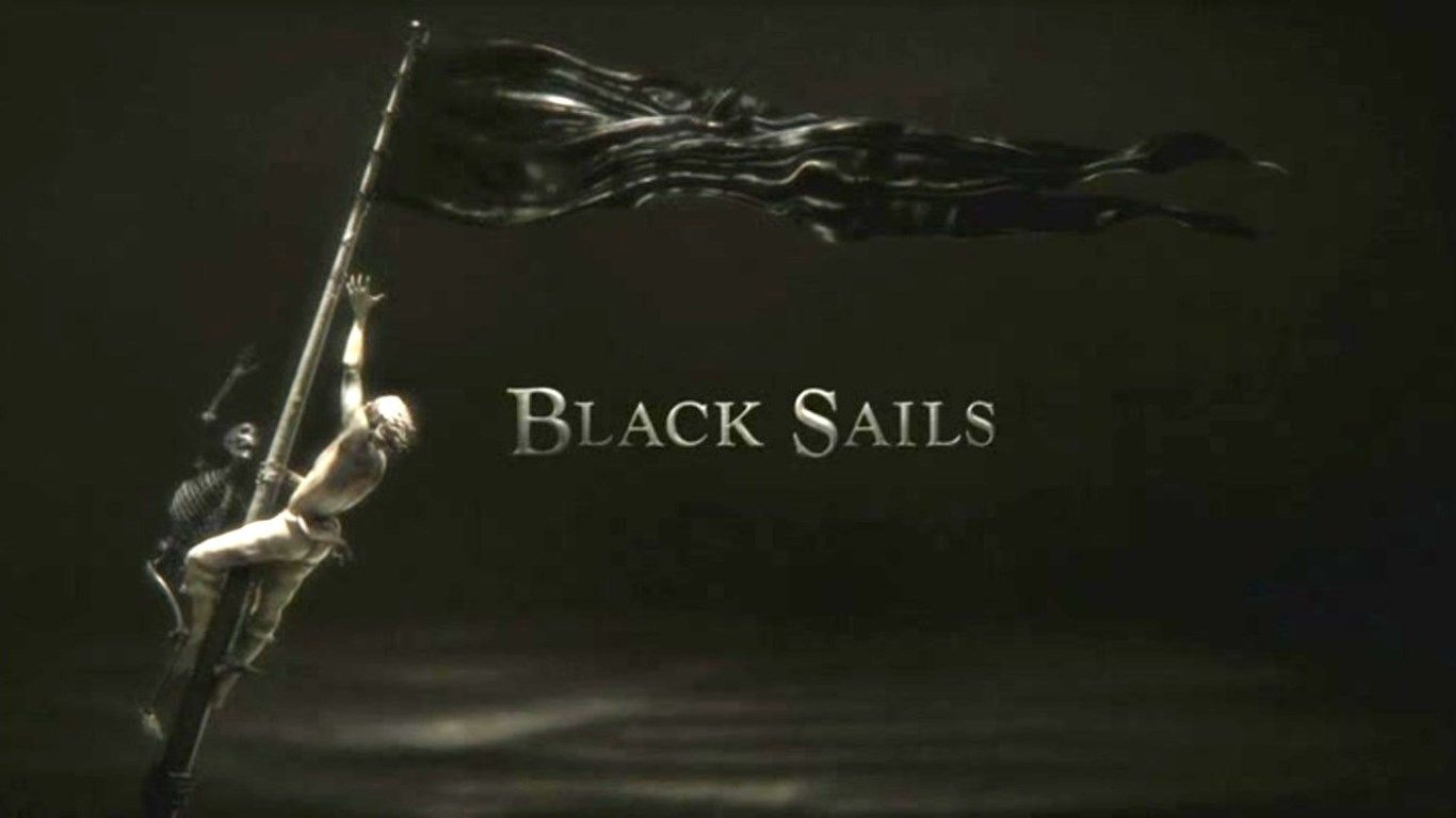 Black sails with logotitle schwarze segel altes