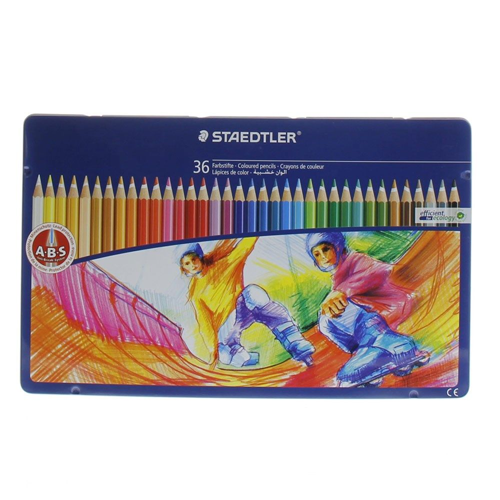 Buy Staedtler Colour Pencil 145spm36 36 S Online In Uae Dubai