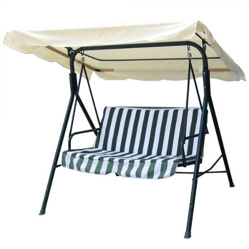 75x52 Ivory Swing Canopy Replacement Porch Top Cover Park Seat Furniture Patio * Clicking on the  sc 1 st  Pinterest & 75x52 Ivory Swing Canopy Replacement Porch Top Cover Park Seat ...