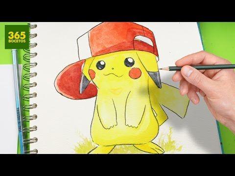 COMO DIBUJAR A PIKACHU PASO A PASO  how to draw pikachu  de