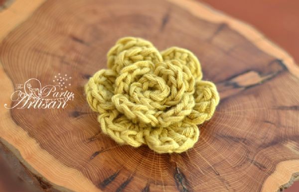 Easy Crochet Flower tute