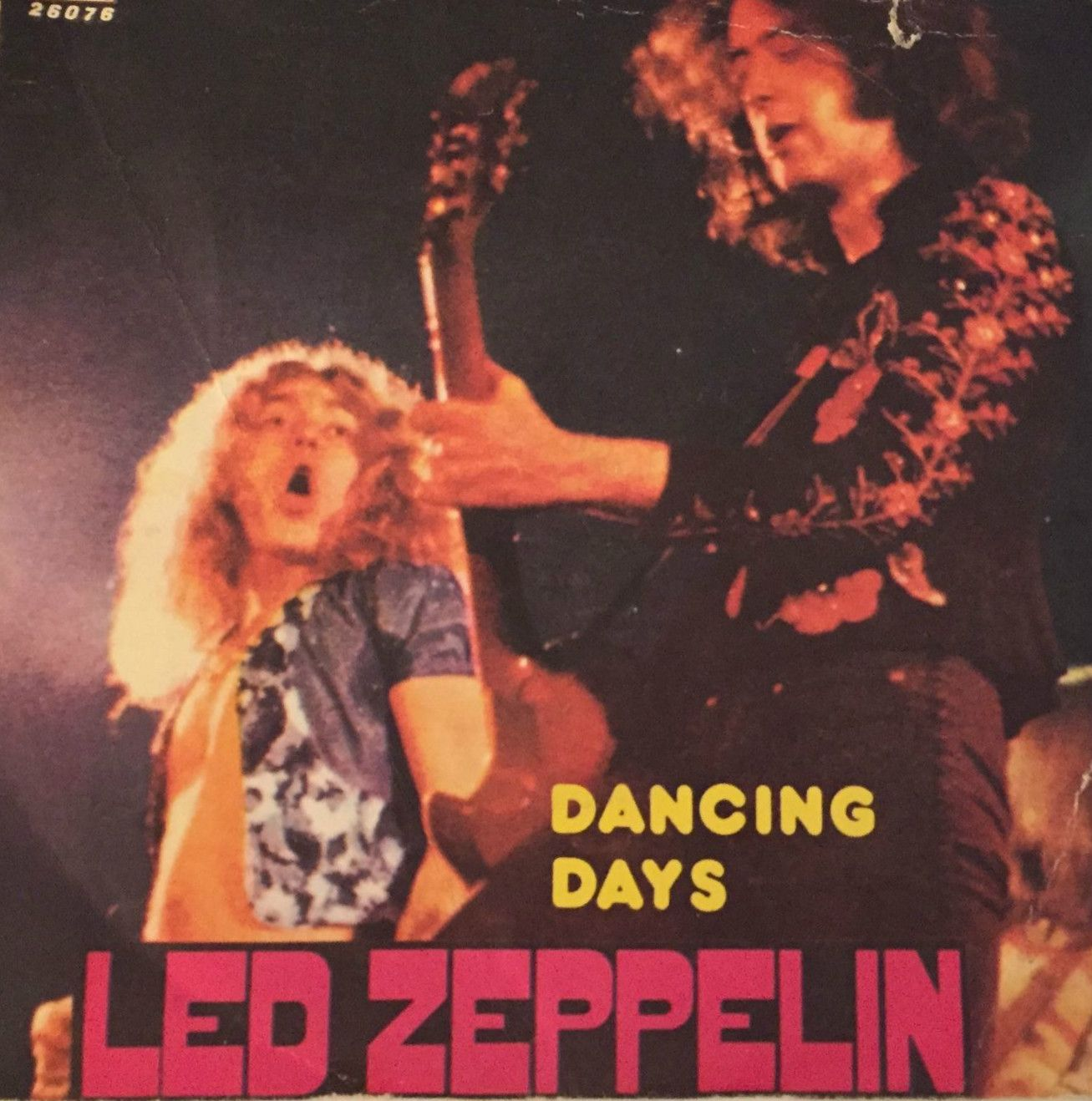 Led Zeppelin 45 RPM Cover https://www.facebook.com/FromTheWaybackMachine/