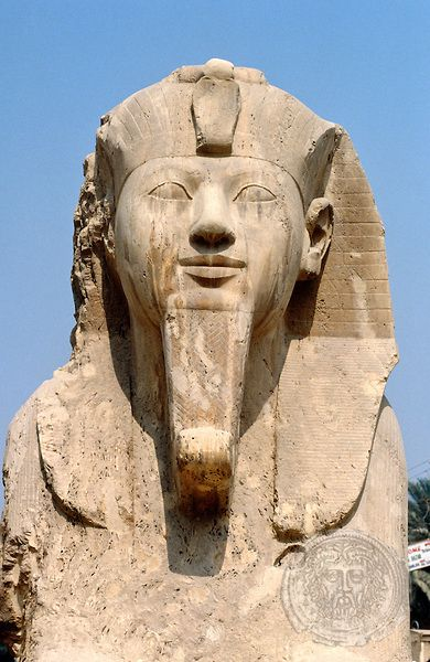 Pharaoh Ramses II . Memphis, Egypt