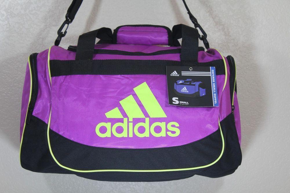 ADIDAS defense small duffel women girls gym bag luggage 19