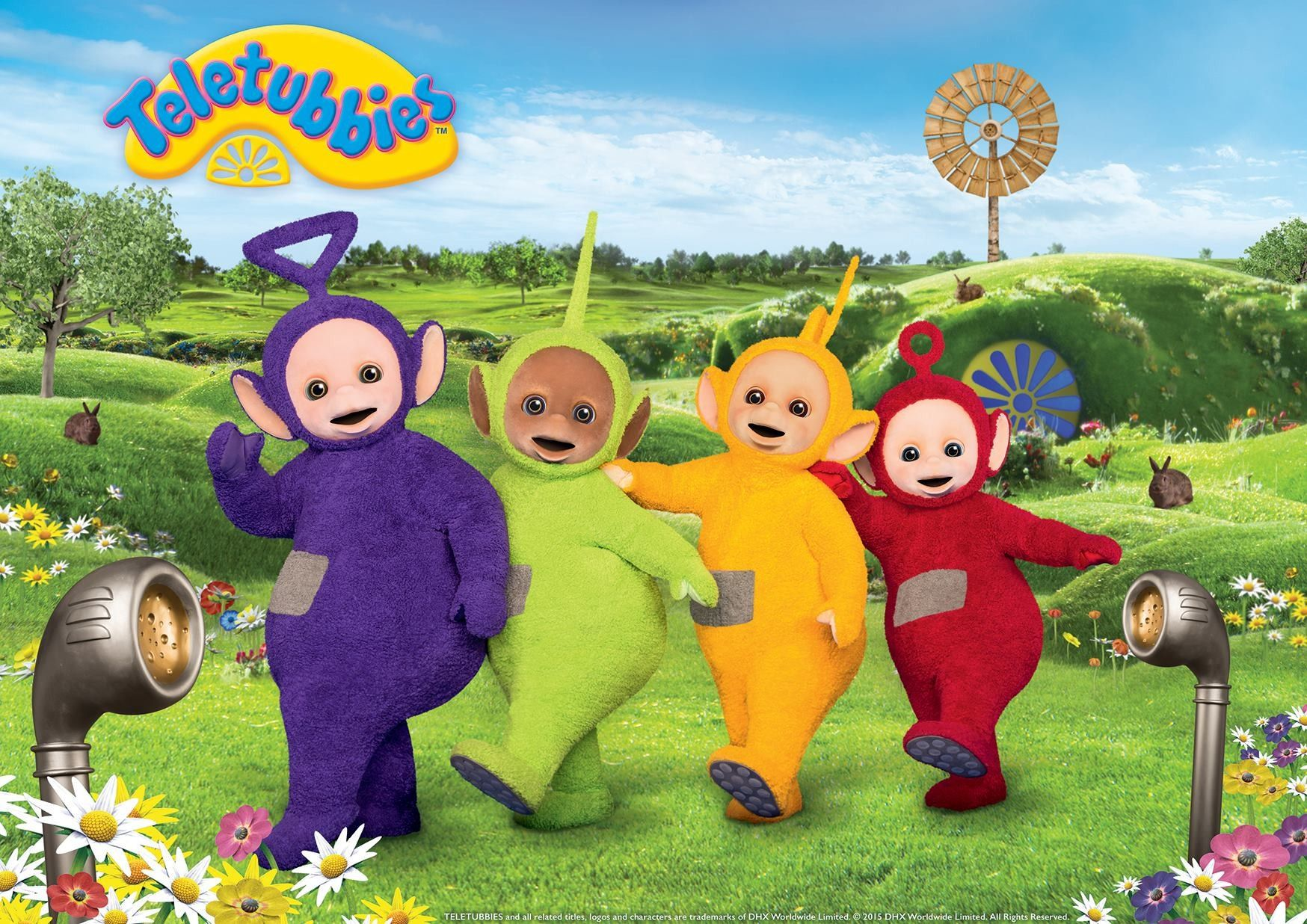 Lovely Pictures Of Teletubbies