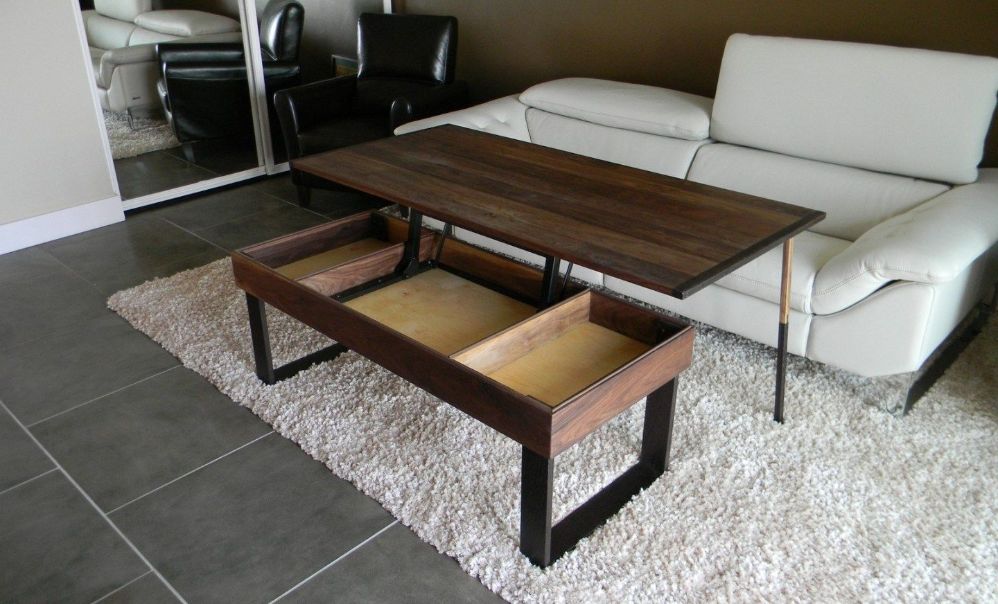 Standard Coffee Table Height Living Room Furniture Mebel