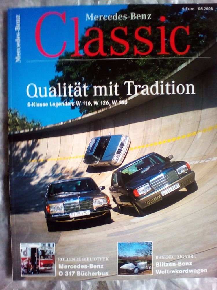 mercedes benz!classic!magazin!ausgabe: 03/2005!neu! | magazin