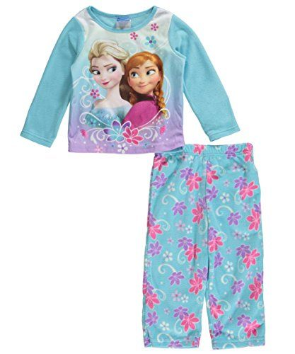 2-Sets Teal//Purple Disney Girls Frozen Pajama Sets