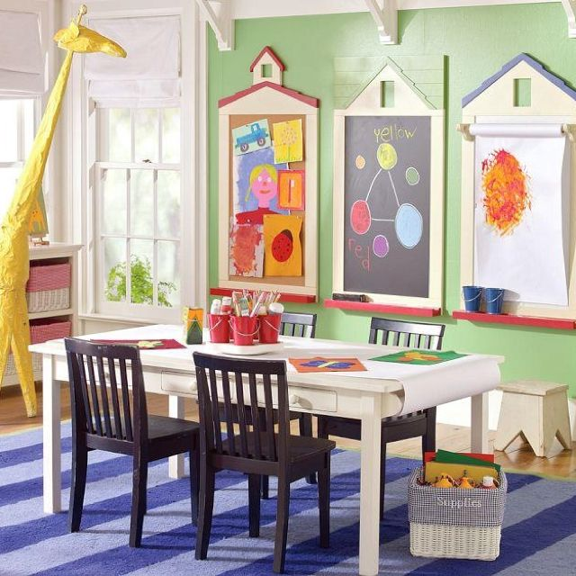 Pottery Barn Kids Playroom: Homeschool Room- Pottery Barn Kids