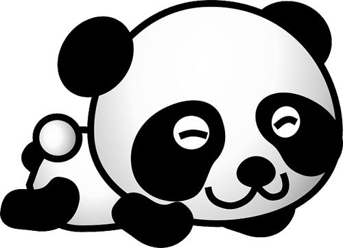 Osos panda para imprimirImagenes y dibujos para imprimir