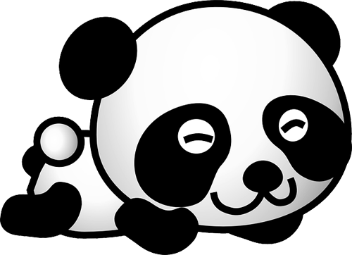 Osos panda para imprimirImagenes y dibujos para imprimir  OSITOS