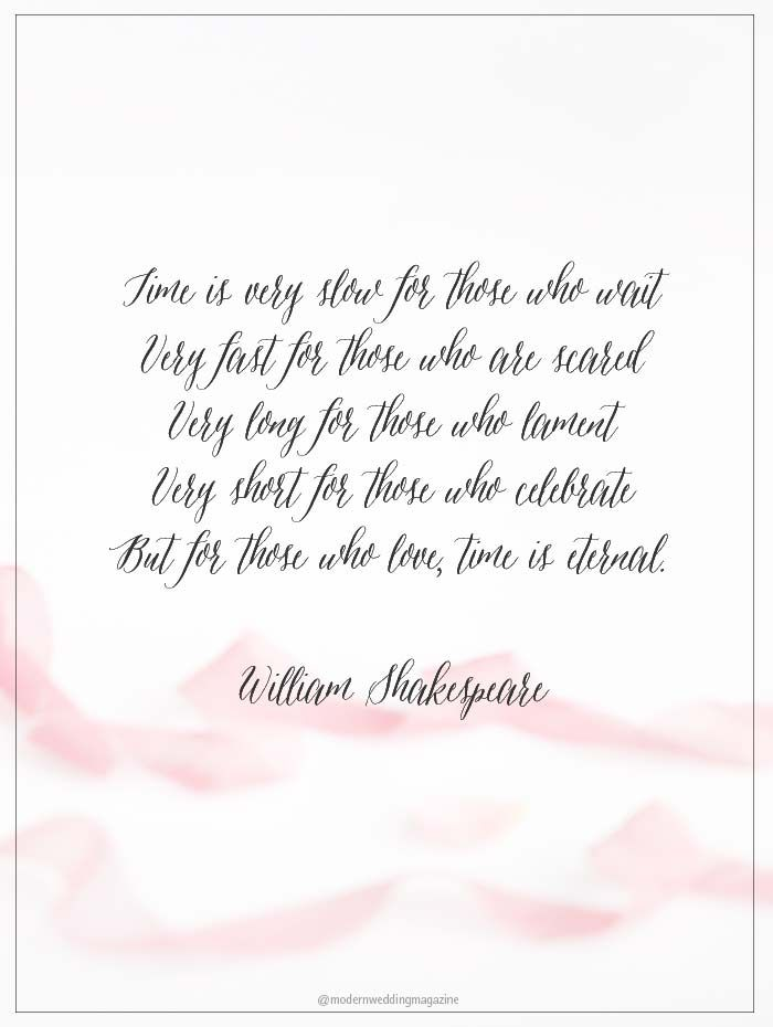 Romantic Wedding Day Quotes That Will Make You Feel The ...