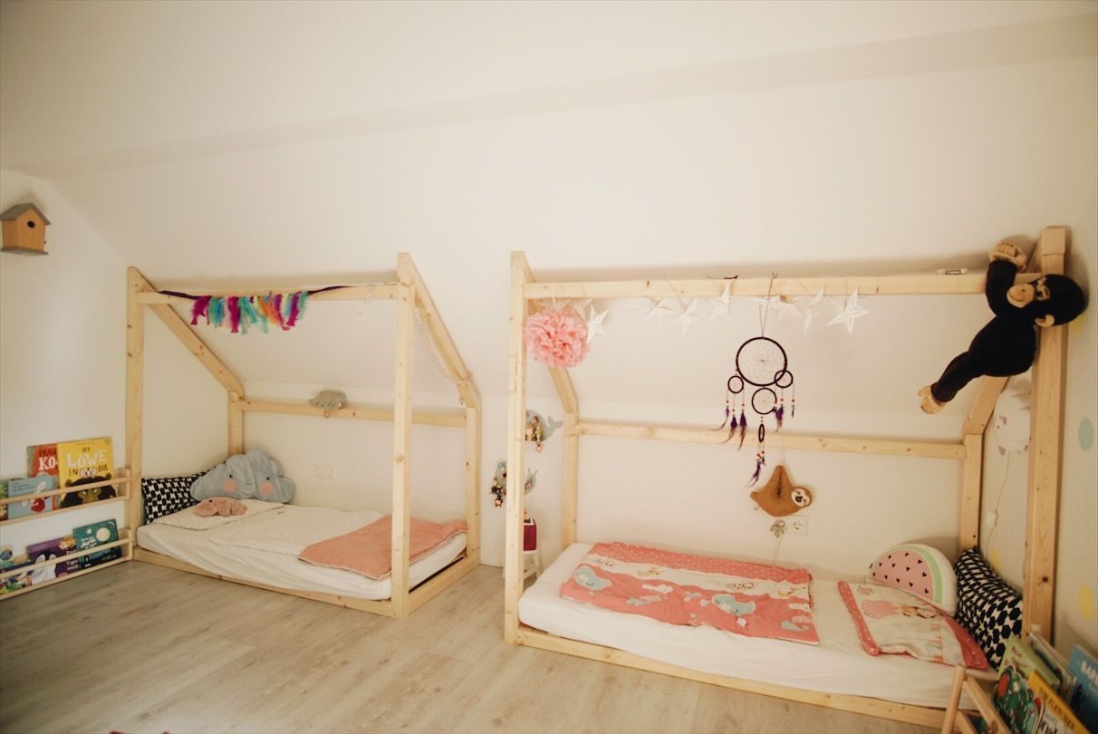 Our Sibling Bed For Children 39 S Rooms With Sloping Ceilings