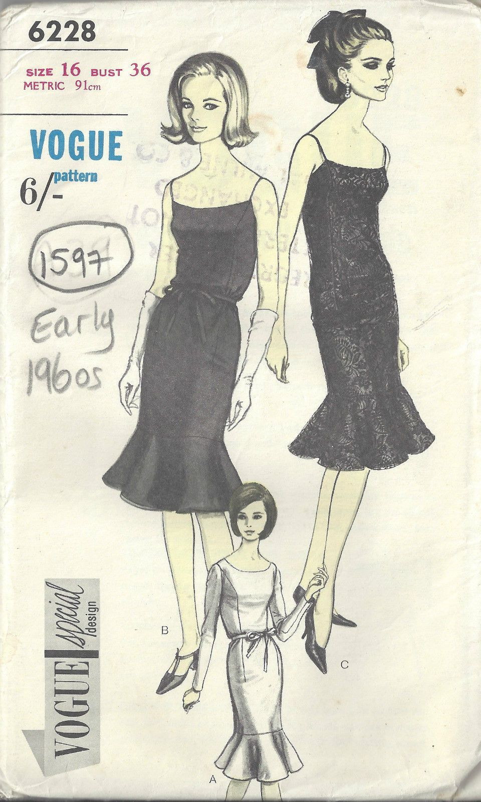 For many more vintage Sewing Patterns visit my eBay shop \'Th ...