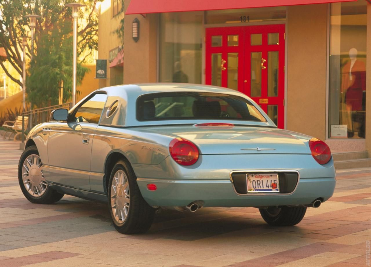 2002 ford thunderbird as an afficiando of the 55 66 tbirds i didn t expect to like the modern t bird but this puppy was absolutely fun to drive  [ 1280 x 920 Pixel ]