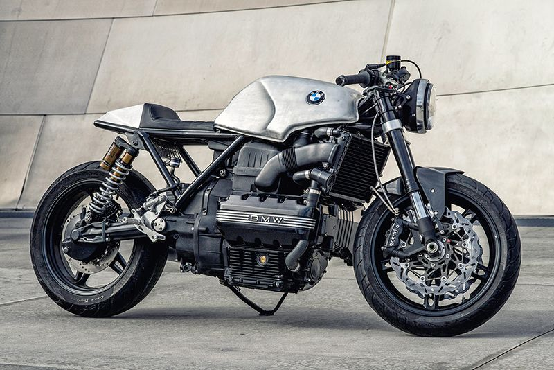 BMW K100 – Café Racer Berkarakter - Qubicle
