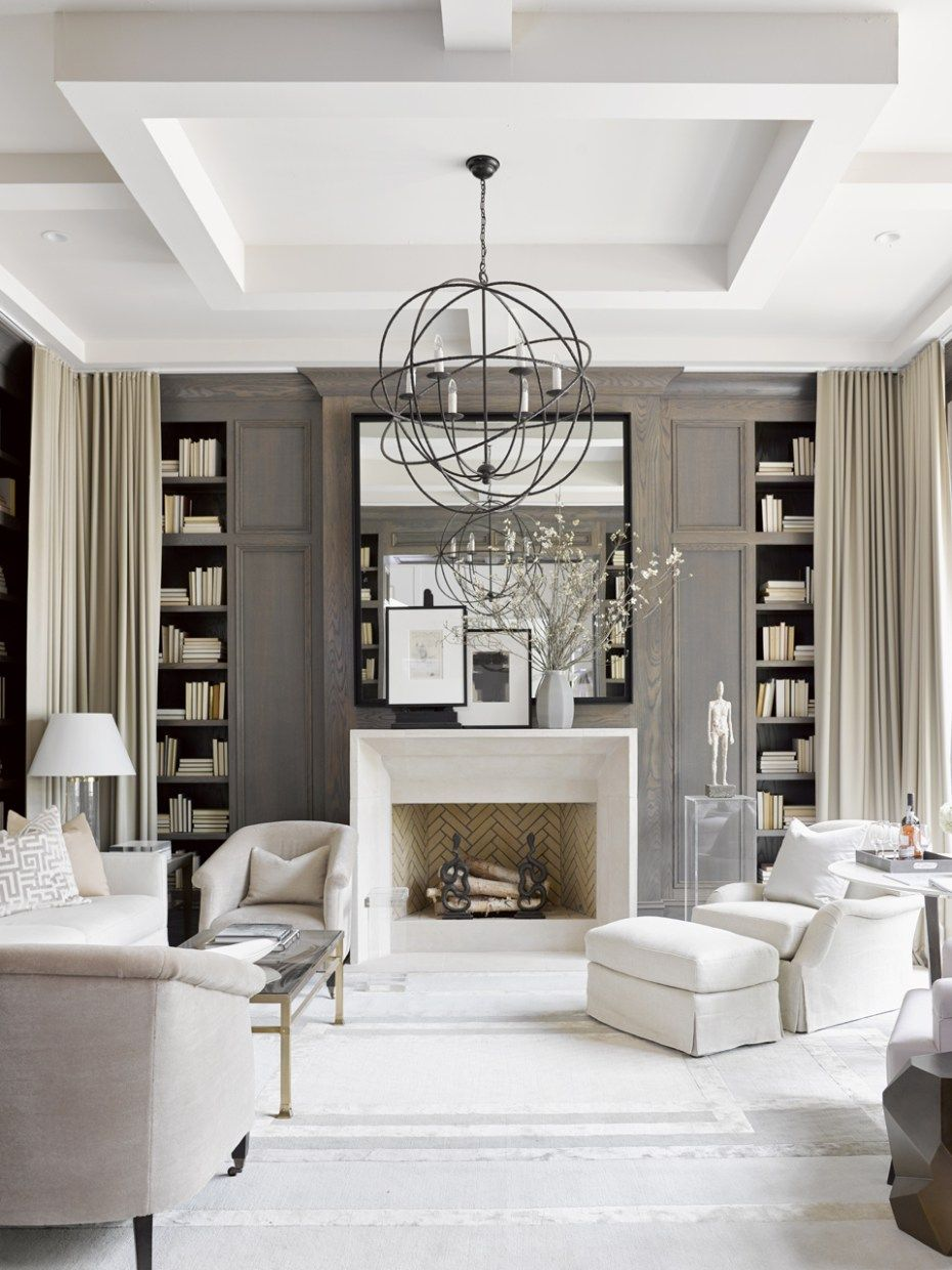 Taupe interior design - 12 Swoon Worthy Interiors From The Southeastern Designer Showhouse