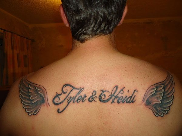 wing 24 Adorable Tattoos With Kids Names | Tattoos that I ...
