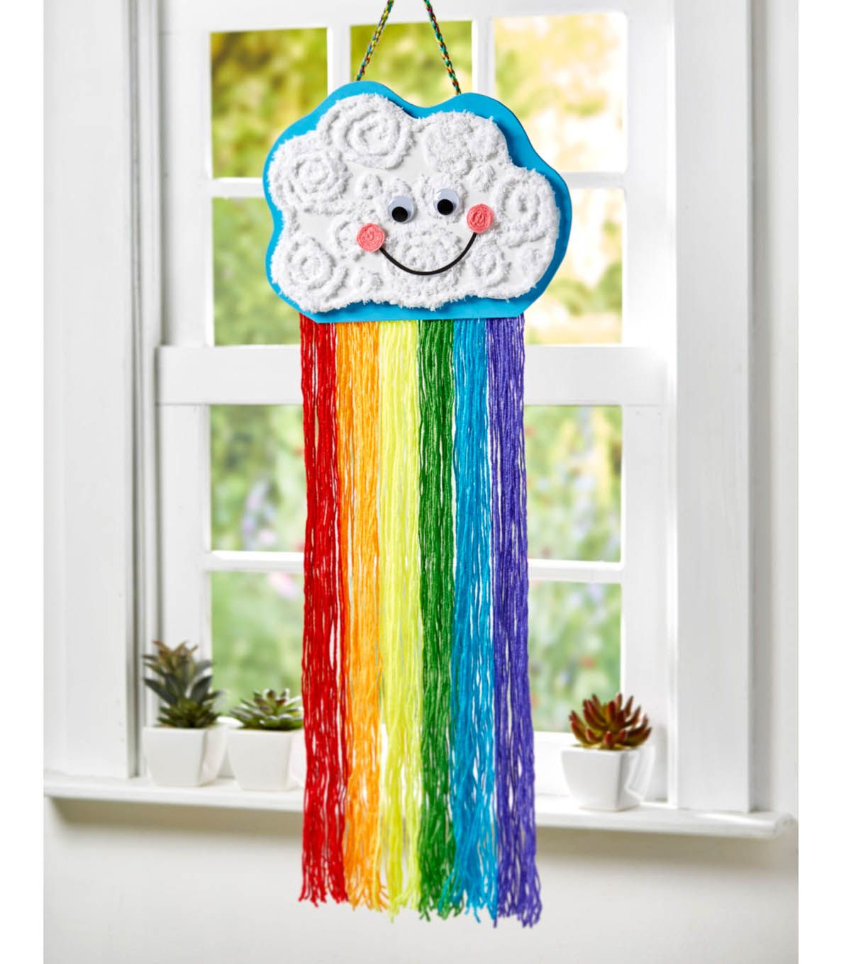 How To Create a Rainbow Dangler | Summer Projects with JOANN | Pinterest